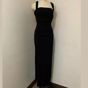 Laundry By Shelly Segal Black Dress Cut XS